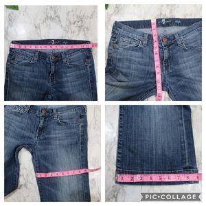 7 For All Mankind Jeans - 7 For All Mankind Jeans Cropped Dojo